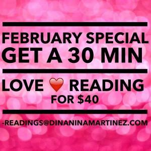 February love intuitivereading special ReadingsDinaninamartinezcom